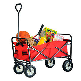 Sandusky® Light Duty Folding Wagon Cart FCW3622 150 Lb. Capacity