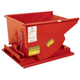 Modern Equipment MECO SDHX250 2-1/2 Cu. Yd. Orange Extra Heavy Duty Hopper