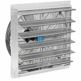 """Exhaust Ventilation Fan With Shutter 24"""" 2-Speed With Hardware"""