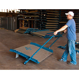 EZ-Roll Attachment for Bluff® Aluminum Dock Boards with Steel Curbs