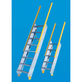 """Equipto - Ships Stair 24"""" W Tread - Floor Heights (5'-7"""" to 6'-6"""")"""