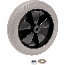 "Replacement 8"" Rear Wheel for Janitor Cart (Models 603574, 603590)"