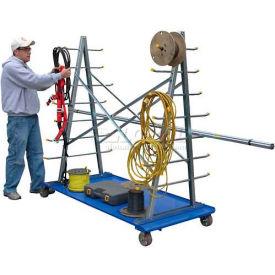 A-Frame Storage Cart AFSR-3672 2000 Lb. Capacity