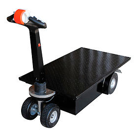 Vestil Battery Powered Traction Drive Platform Truck NE-CART-1 750 Lb. Cap.
