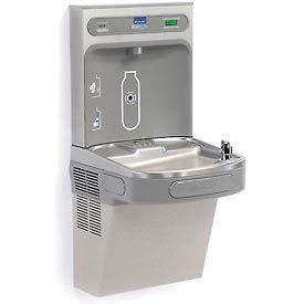 Elkay EZH2O LZS8WSVRLK Water Refilling Station, VR Bubbler W/Filter, Light Gray