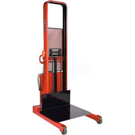 "Wesco® Battery Powered Lift Truck 261076 1500 Lb. Cap. 80""H 24"" x 24"" Platform"