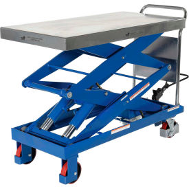 Vestil Hydraulic Elevating Cart CART-1500-D-TS 47 x 24 1500 Lb. Cap.