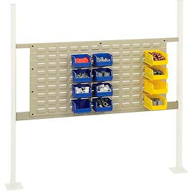 """Mounting Kit with 36""""W Louver for 48""""W Workbench -Tan"""