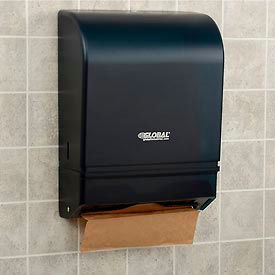 Global Industrial™ Plastic C-Fold/Multi-Fold Paper Towel Dispenser 350 C-Fold/540 Multi-Fold
