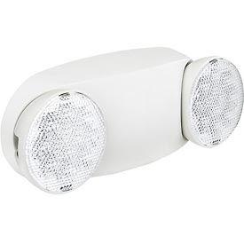 Lampe d'éclairage de secours DEL Global™, 2 faisceaux réglables, batterie de secours Ni-Cd
