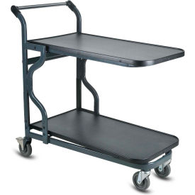 VersaCart® EZtote®9600 HD Nesting Stock Cart 107-9600 DGY Dark Gray