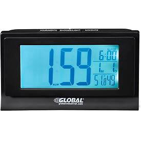 Digital Alarm Clock with Indoor Temperature and Humidity Display