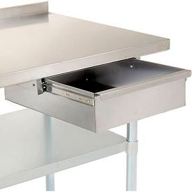 """15""""W x 20""""D x 5""""H Stainless Steel Workbench Drawer"""