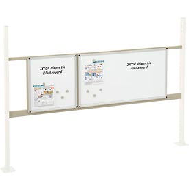 "Mounting Kit with 18""W and 36""W Whiteboard for 72""W Workbench- Tan"
