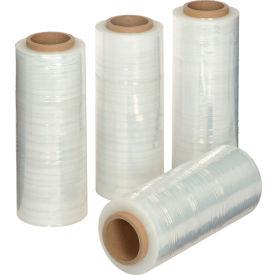 "Stretch Wrap Film 13"" x 1500' - 65 Gauge Clear For Hand Dispenser - Pkg Qty 4"