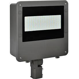 Global™ LED Shoe Box luminaire, 150W, 16000 Lumens, 5000K, Slip-monteur d'installations au Mont