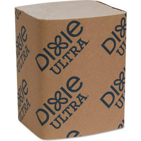 "Dixie Ultra® GPC32019, Interfold Napkin Refills, 6-1/2""Wx9-7/8""D, Brown, 6000/Carton"
