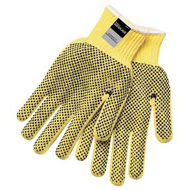 Kevlar® Two-Sided PVC Dots Gloves, MCR Safety, Medium, 9366M, 1-Pair
