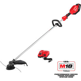 Milwaukee 2725-21HD M18 FUEL 18-Volt Lithium-ion Brushless Cordless String Trimmer Kit 9.0Ah