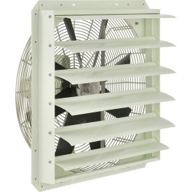 Corrosion Resistant Exhaust Fans with Shutter
