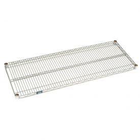 Nexel® Chrome Wire Shelf 60 x 24 with Clips