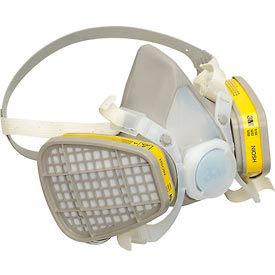 3M™ 5203 demi masque jetable respirateur Assemblée, OV/AC, Medium, 1 chaque