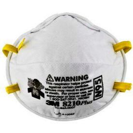 3M™ 8210PLUS N95 Disposable Particulate Respirators, Box of 20