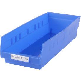 "Tri-Dex Label Holder 13/16"" x 3"" for Shelf Bin 7x18x4 Price per Pack of 25"