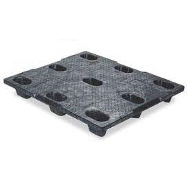 ORBIS Structural Plastic Pallet 40 x 48TRNS - 40 x 48 4000 Lb. Capacity Black