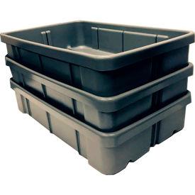Dandux Conveyor Tote 50P2818070 - 28-1/4 x 18-1/4 x 7 Gray
