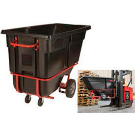 Rubbermaid® Tilt Trucks with Fork Pockets
