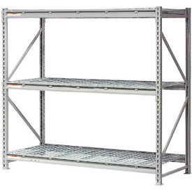 """Global Industrial™ Extra High Capacity Bulk Rack With Wire Decking 96""""W x 48""""D x 72""""H Starter"""