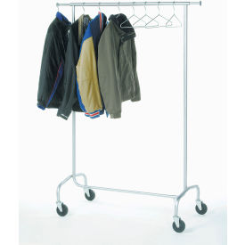 Interion® Extra Value Mobile Coat Rack (Hangers Sold Separately)