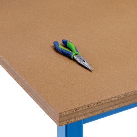 """72"""" W x 36"""" D x 1-1/2"""" Thick, Shop Top Square Edge Workbench Top"""