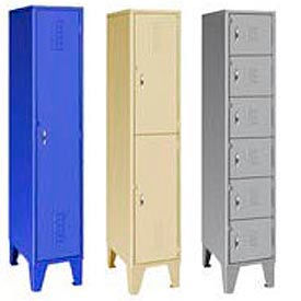 18 Gauge Extra Wide Welded Steel Lockers