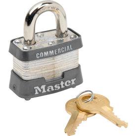 "Keyed Alike Long 2/"" Shackle Steel Laminated Lot of 6 Lock Set by Master 3KALH"