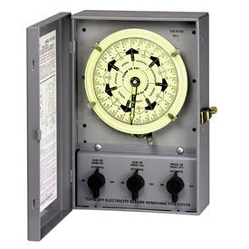 Timing Control Centers, 7-Day Dial With Carryover