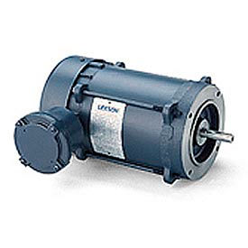 Leeson Explosion-Proof, 3-Phase, C Face Less Base Div. I, Div. II, Class I, Groups C&D