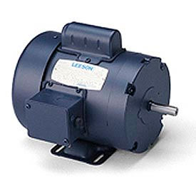 Leeson Instant Reversing Motors, Rigid Base, Single-Phase, TEFC