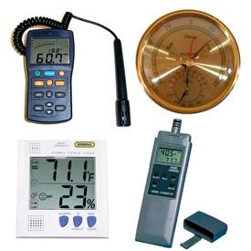 Hygrometers & Psychrometers