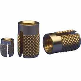 Brass Press Inserts - Flush