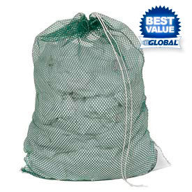 Mesh Bags With Drawstring Closure