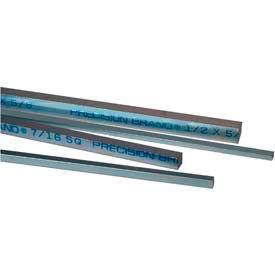 Unplated Rectangular Steel Keystock