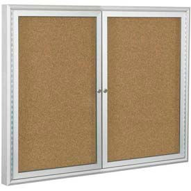 2 Door Non-Illuminated Enclosed Boards