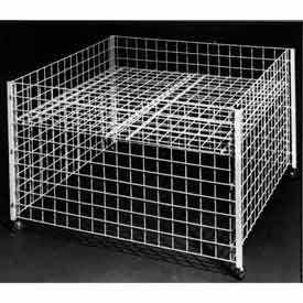 Wire Grid Dump Tables & Bins