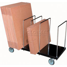 Portable Carton Storage Truck Single Level CTPT-1844-CK 400 Lb. Capacity