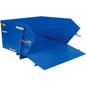 Self-Dumping Steel Hoppers with Drop-Down Ramp