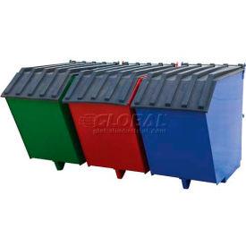 Triple-Bin Recycling Hopper