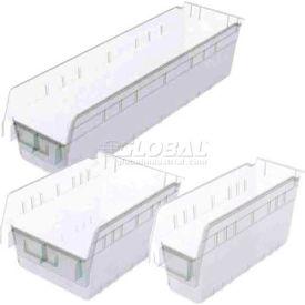Akro-Mils® Clear Nestable Shelf Bins