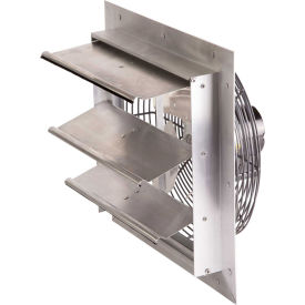 "Air-Flo 10"" Shutter Mount Exhaust Fan SMF 10A - 115V 1/25 HP 585 CFM, Aluminium"